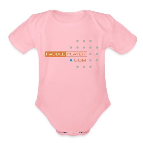 paddleplayer womens - Organic Short Sleeve Baby Bodysuit