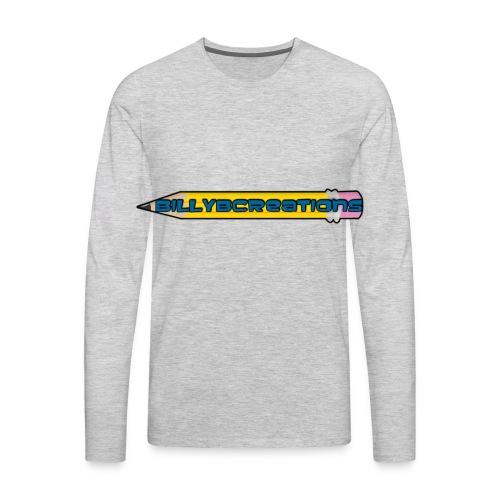 BillyBCreations Logo | Long sleeve shirt - Men's Premium Long Sleeve T-Shirt