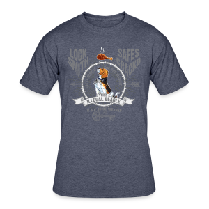 Illegal Beagle - Men's 50/50 T-Shirt