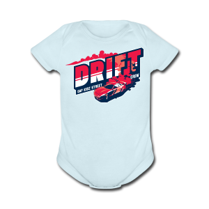 Drift Street Racing - Short Sleeve Baby Bodysuit
