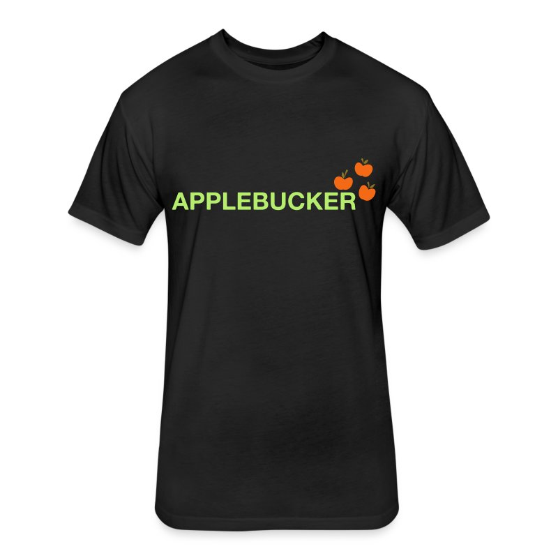 Applebucker - Fitted Cotton/Poly T-Shirt by Next Level