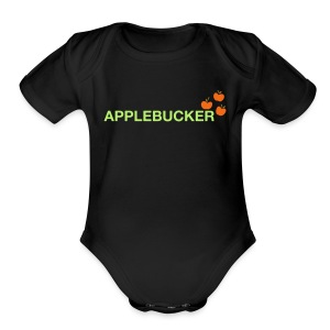Applebucker - Short Sleeve Baby Bodysuit