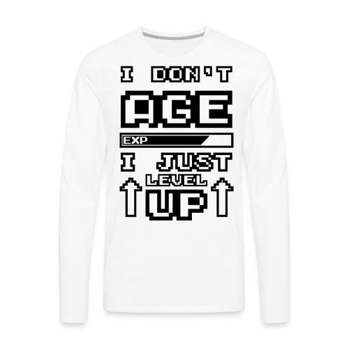 Level UP - Men's Premium Long Sleeve T-Shirt