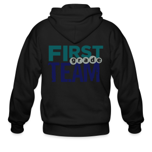 First Grade Team - Men's Zip Hoodie