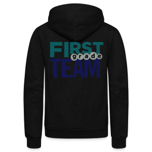 First Grade Team - Unisex Fleece Zip Hoodie