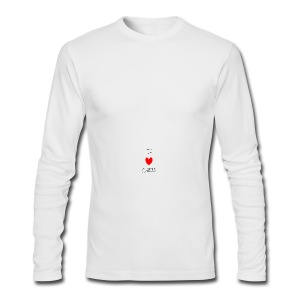 I heart CHAOS - Men's Long Sleeve T-Shirt by Next Level