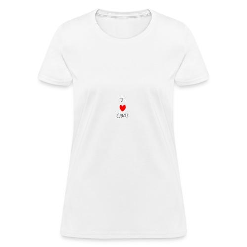 I heart CHAOS - Women's T-Shirt
