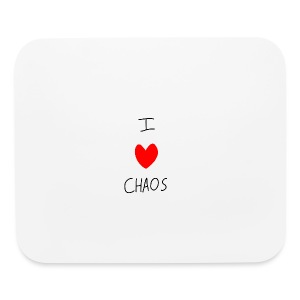 I heart CHAOS - Mouse pad Horizontal