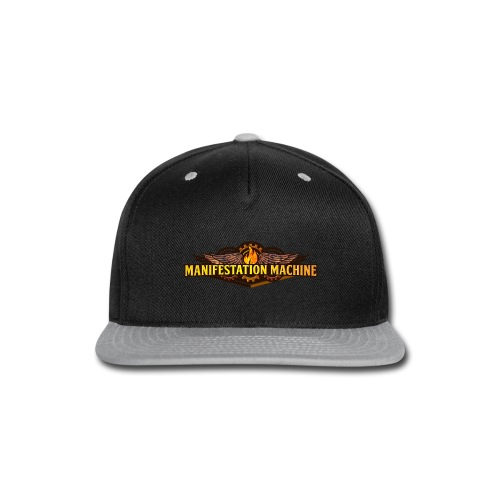 Manifestation Machine Men's Premium T-Shirt 1 - Snap-back Baseball Cap