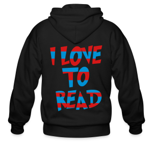 I Love To Read - Men's Zip Hoodie