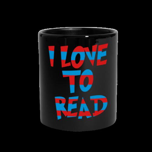 I Love To Read - Full Color Mug
