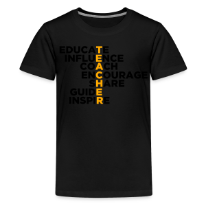 Teachers Do All These Things - Kids' Premium T-Shirt