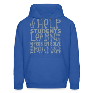 I Help Students to Learn - Men's Hoodie