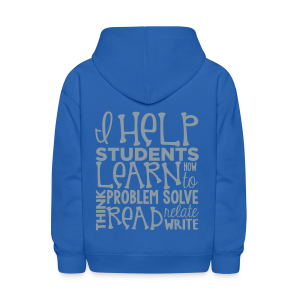 I Help Students to Learn - Kids' Hoodie