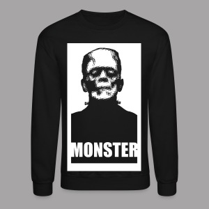 The Monster Halloween Horror Men's T Shirt - Crewneck Sweatshirt