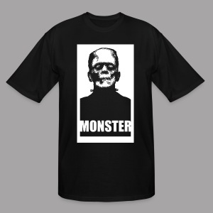 The Monster Halloween Horror Men's T Shirt - Men's Tall T-Shirt