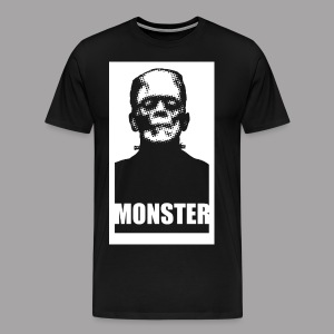 The Monster Halloween Horror Men's T Shirt - Men's Premium T-Shirt