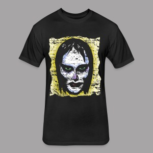 Vampire Girl Topstone Vintage Men's Spooky Halloween T Shirt - Fitted Cotton/Poly T-Shirt by Next Level