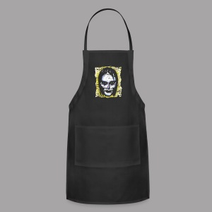 Vampire Girl Topstone Vintage Men's Spooky Halloween T Shirt - Adjustable Apron