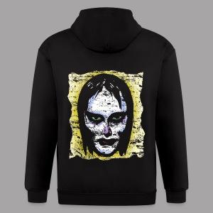 Vampire Girl Topstone Vintage Men's Spooky Halloween T Shirt - Men's Zip Hoodie