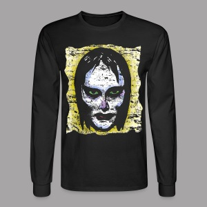 Vampire Girl Topstone Vintage Men's Spooky Halloween T Shirt - Men's Long Sleeve T-Shirt