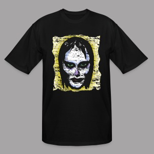 Vampire Girl Topstone Vintage Men's Spooky Halloween T Shirt - Men's Tall T-Shirt