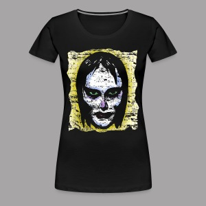 Vampire Girl Topstone Vintage Men's Spooky Halloween T Shirt - Women's Premium T-Shirt