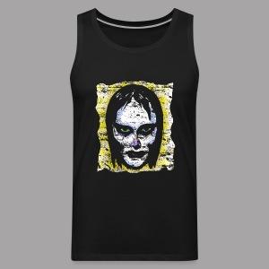 Vampire Girl Topstone Vintage Men's Spooky Halloween T Shirt - Men's Premium Tank