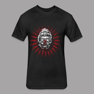 Dracula's Ring Men's Horror T Shirt - Fitted Cotton/Poly T-Shirt by Next Level