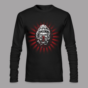 Dracula's Ring Men's Horror T Shirt - Men's Long Sleeve T-Shirt by Next Level