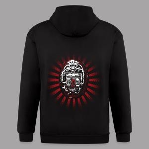 Dracula's Ring Men's Horror T Shirt - Men's Zip Hoodie