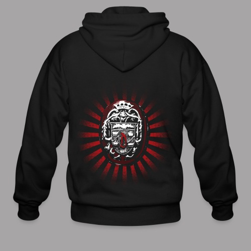 Dracula's Ring Men's Horror T Shirt - Men's Zip Hoodie