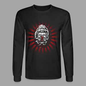 Dracula's Ring Men's Horror T Shirt - Men's Long Sleeve T-Shirt