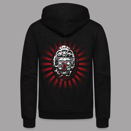 Dracula's Ring Men's Horror T Shirt - Unisex Fleece Zip Hoodie
