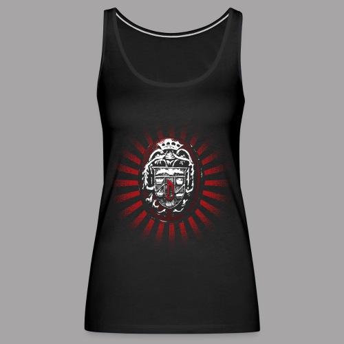 Dracula's Ring Men's Horror T Shirt - Women's Premium Tank Top