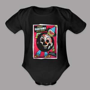 Clown Costume Men's Halloween T Shirt - Short Sleeve Baby Bodysuit