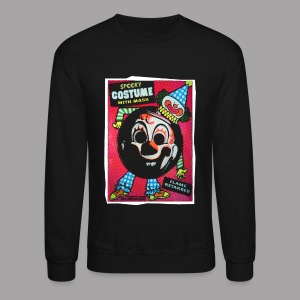 Myers Clown Costume Mask Men's Halloween T Shirt - Crewneck Sweatshirt