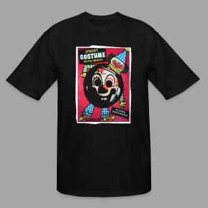 Myers Clown Costume Mask Men's Halloween T Shirt - Men's Tall T-Shirt