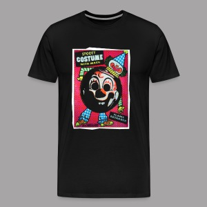 Myers Clown Costume Mask Men's Halloween T Shirt - Men's Premium T-Shirt
