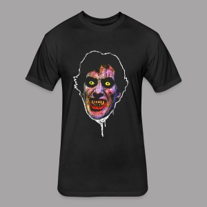 An American Werewolf in London David Wolf Men's Horror T Shirt - Fitted Cotton/Poly T-Shirt by Next Level