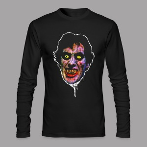 An American Werewolf in London David Wolf Men's Horror T Shirt - Men's Long Sleeve T-Shirt by Next Level