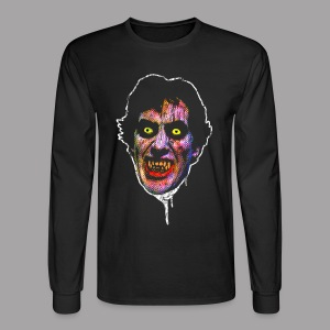 An American Werewolf in London David Wolf Men's Horror T Shirt - Men's Long Sleeve T-Shirt