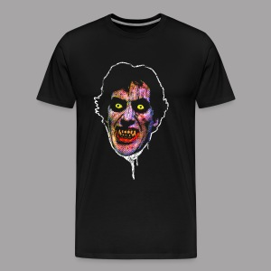 An American Werewolf in London David Wolf Men's Horror T Shirt - Men's Premium T-Shirt
