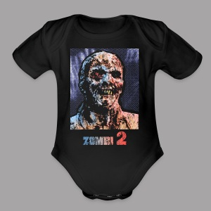 The Zombie Men's Horror T Shirt - Short Sleeve Baby Bodysuit
