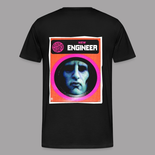 Engineer Costume Men's Halloween Hoodie - Men's Premium T-Shirt