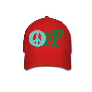 PEACE OFF (2 color customizeable!) - Baseball Cap