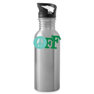 PEACE OFF (2 color customizeable!) - Water Bottle