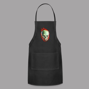 The Screaming Skull Men's Horror Movie T Shirt - Adjustable Apron