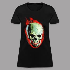 The Screaming Skull Men's Horror Movie T Shirt - Women's T-Shirt