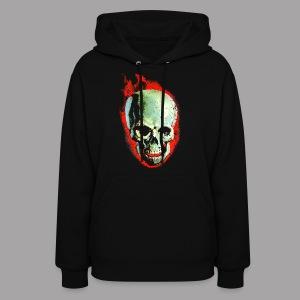 The Screaming Skull Men's Horror Movie T Shirt - Women's Hoodie